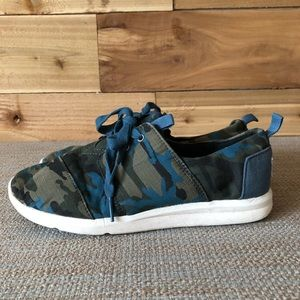 Toms Cammo green/blue sneakers [344]